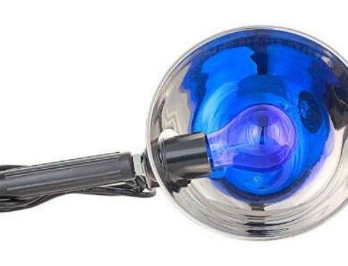 Синяя лампа для прогревания носа и ушей – можно ли греть