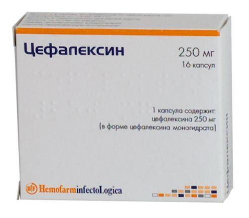 Цефалексин или цефтриаксон